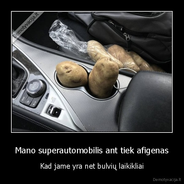superautomobilis,potato, holder